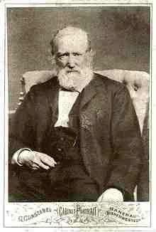 das letzte foto von theodor storm aus dem jahr 1886 - Theodor Storm Lebenslauf